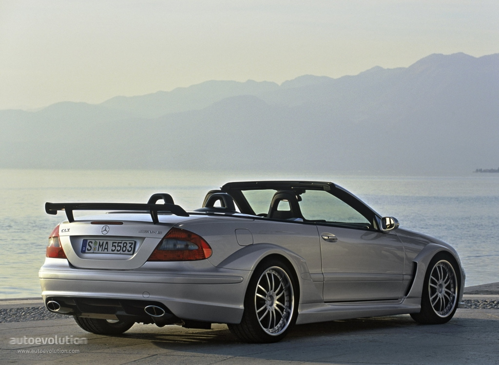 mercedes benz clk dtm amg cabrio a209 specs 2006 autoevolution. Black Bedroom Furniture Sets. Home Design Ideas