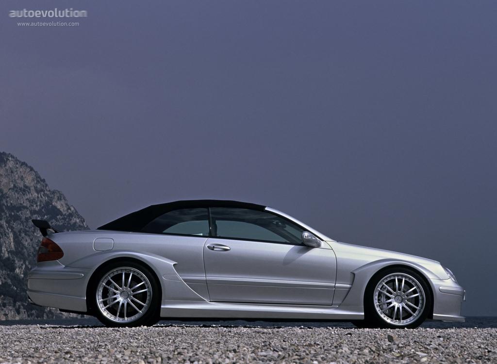 Mercedes benz clk dtm amg cabrio a209 2006 autoevolution for Mercedes benz clk 2006