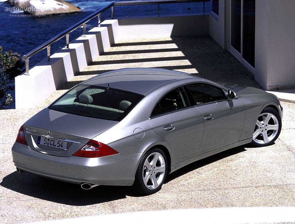 Mercedes benz cls klasse c219 2004 2005 2006 for Cls home