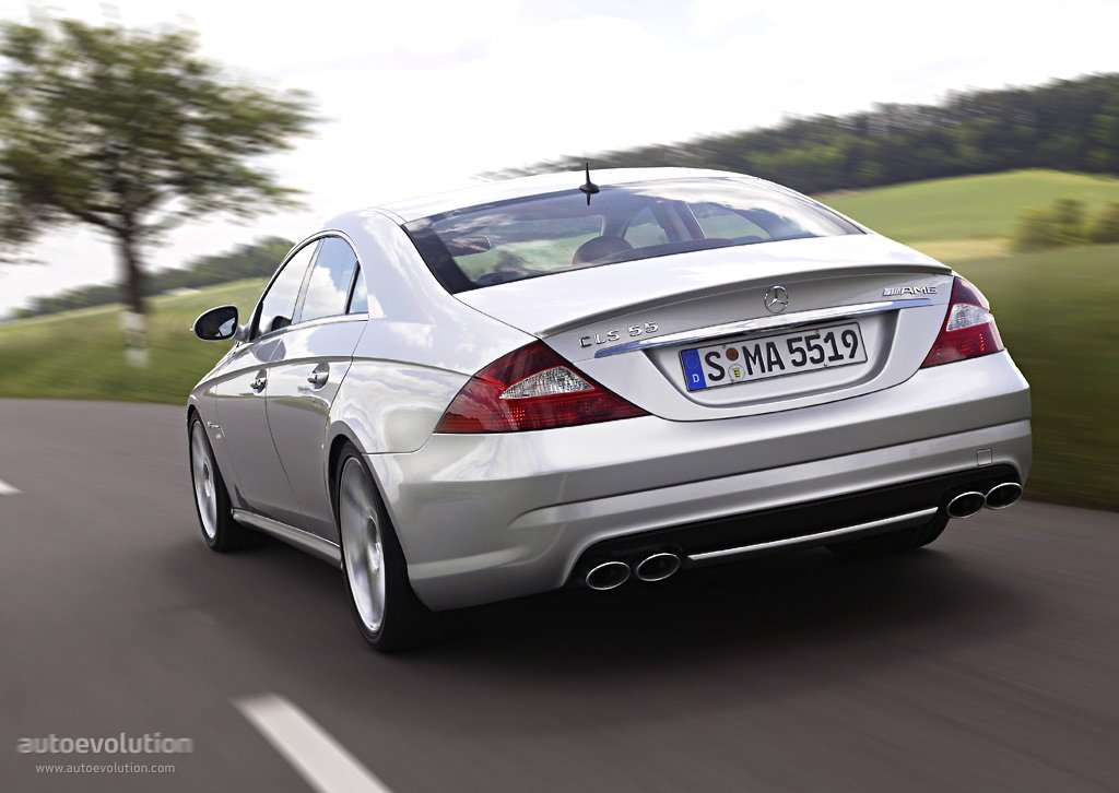 Mercedes benz cls 55 amg c219 2004 2005 2006 for Mercedes benz car picture gallery