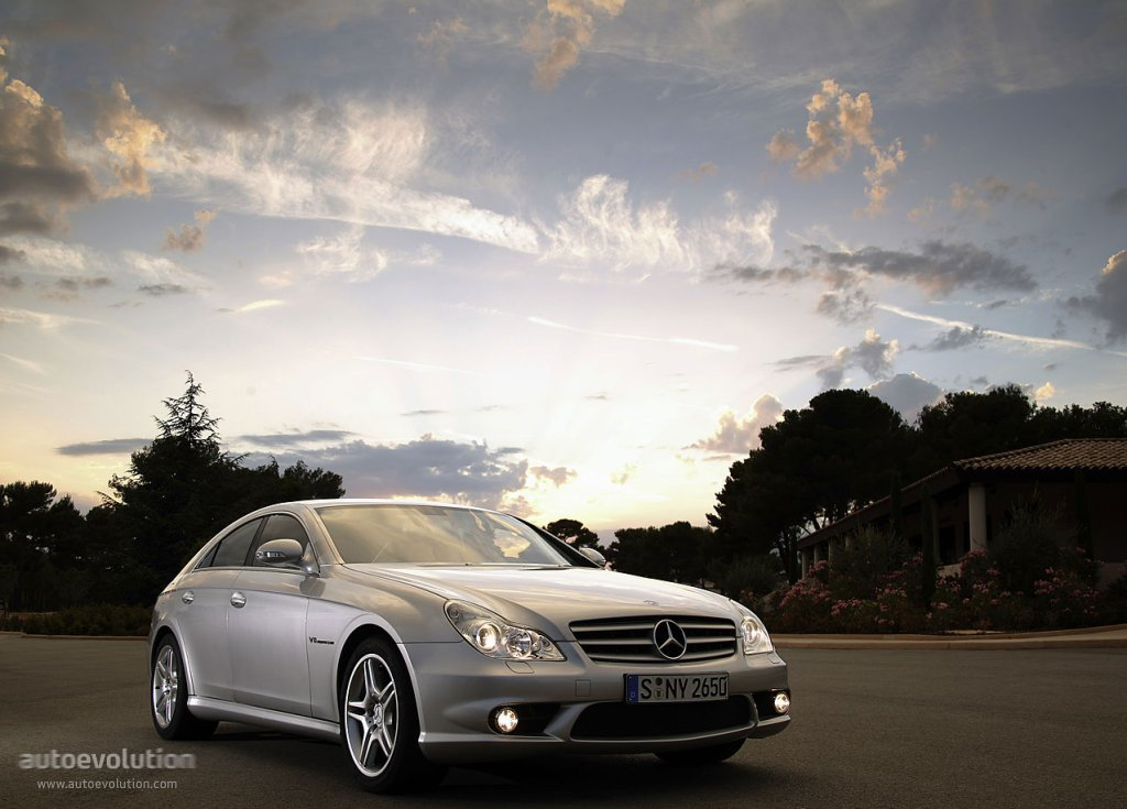 Mercedes benz cls 55 amg c219 specs 2004 2005 2006 for Cls home