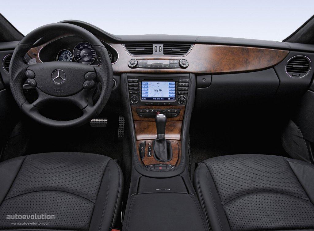 Mercedes Cls 2006 Interior Interior Mercedes Benz Cls