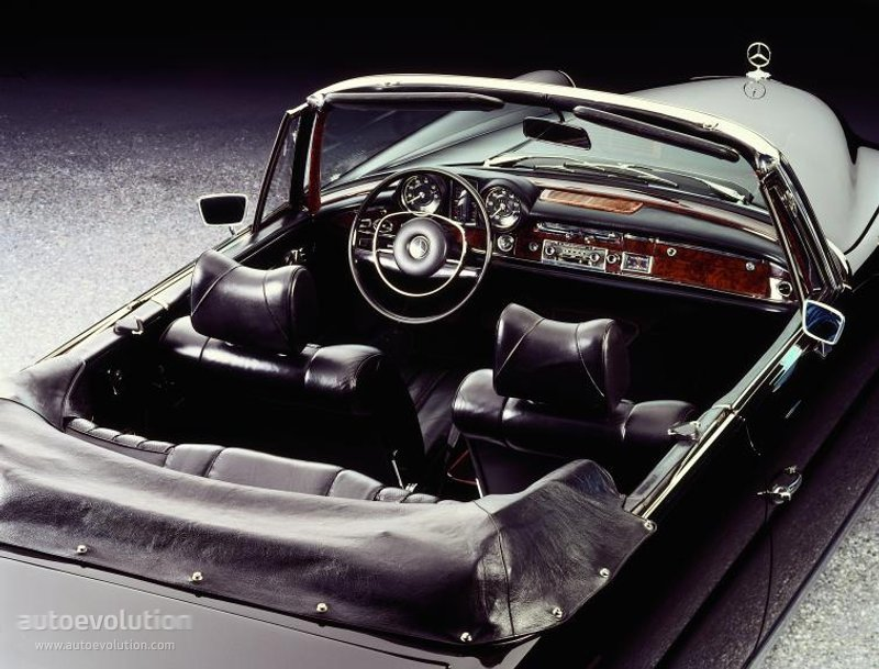 MERCEDES BENZ Cabriolet (W111/112) specs & photos - 1961 ...