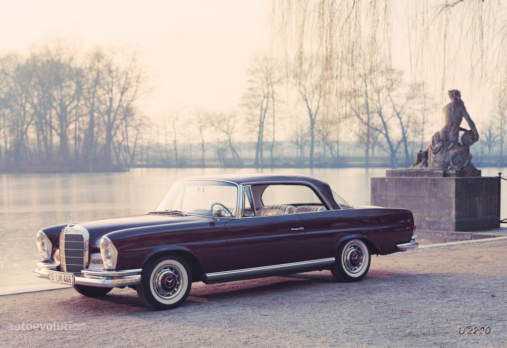 Mercedes benz coupe w111 112 1961 1962 1963 1964 for 1961 mercedes benz