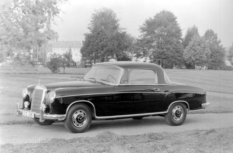 Mercedes Benz Ponton Coupe W180128 1956 1960: 1958 220s Mercedes Engine Diagram At Hrqsolutions.co