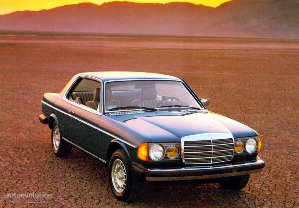 mercedes benz coupe c123 specs photos 1977 1978. Black Bedroom Furniture Sets. Home Design Ideas