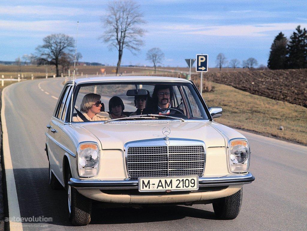 """MERCEDES BENZ E-Klasse """"Strich-Acht"""" (W114/115) specs ..."""