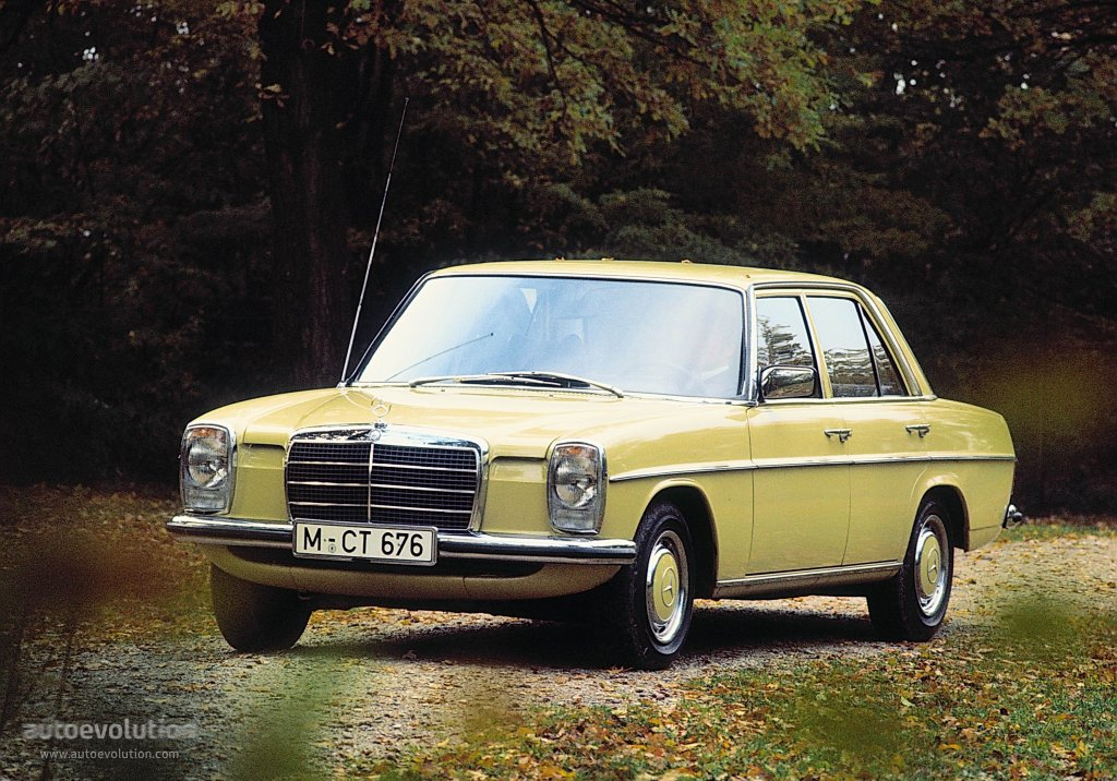 Mercedes benz e klasse strich acht w114 115 1968 for Mercedes benz hydrogen car