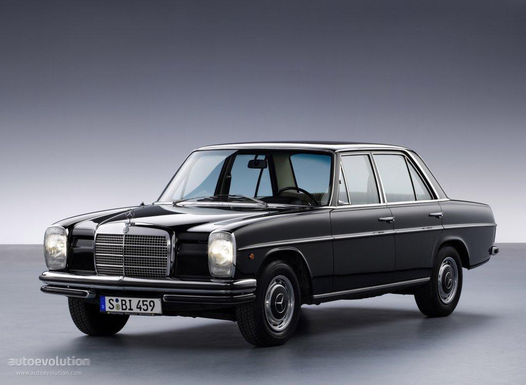 Mercedes benz e klasse strich acht w114 115 specs for Mercedes benz 1972
