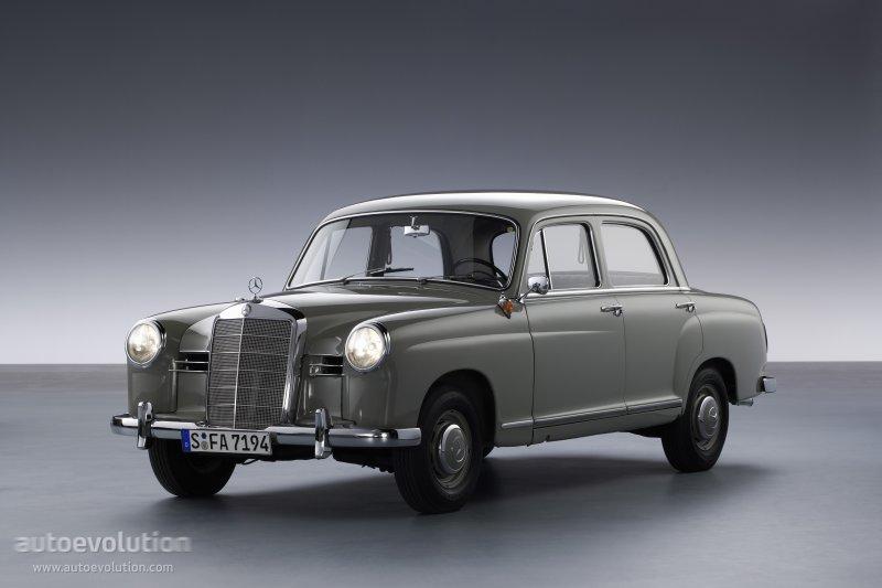 Mercedes benz e klasse ponton w120 w121 specs 1953 for Mercedes benz ponton