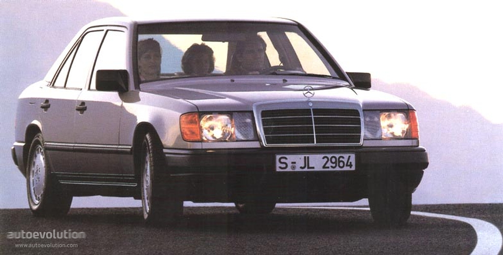mercedes benz e klasse w124 specs photos 1985 1986. Black Bedroom Furniture Sets. Home Design Ideas