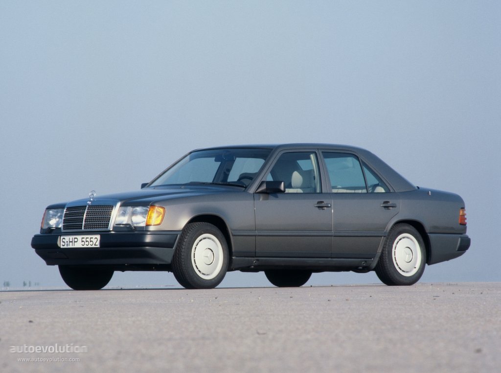 MERCEDES BENZ E-Klasse (W124) specs & photos - 1985, 1986, 1987