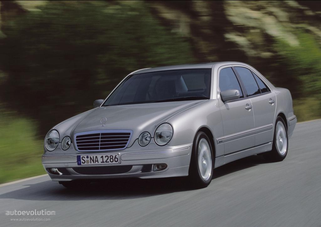 Mercedes benz e klasse w210 1999 2000 2001 2002 for Mercedes benz e klasse