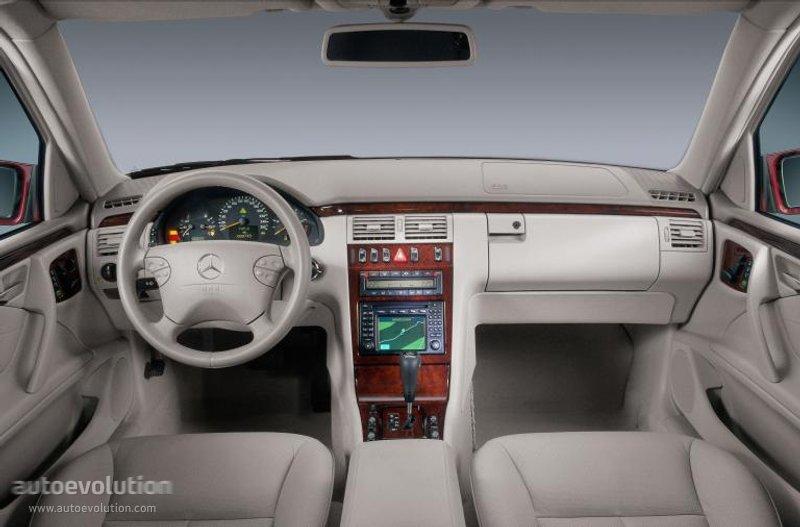 Mercedes Benz E Klasse W210 1999 2000 2001 2002