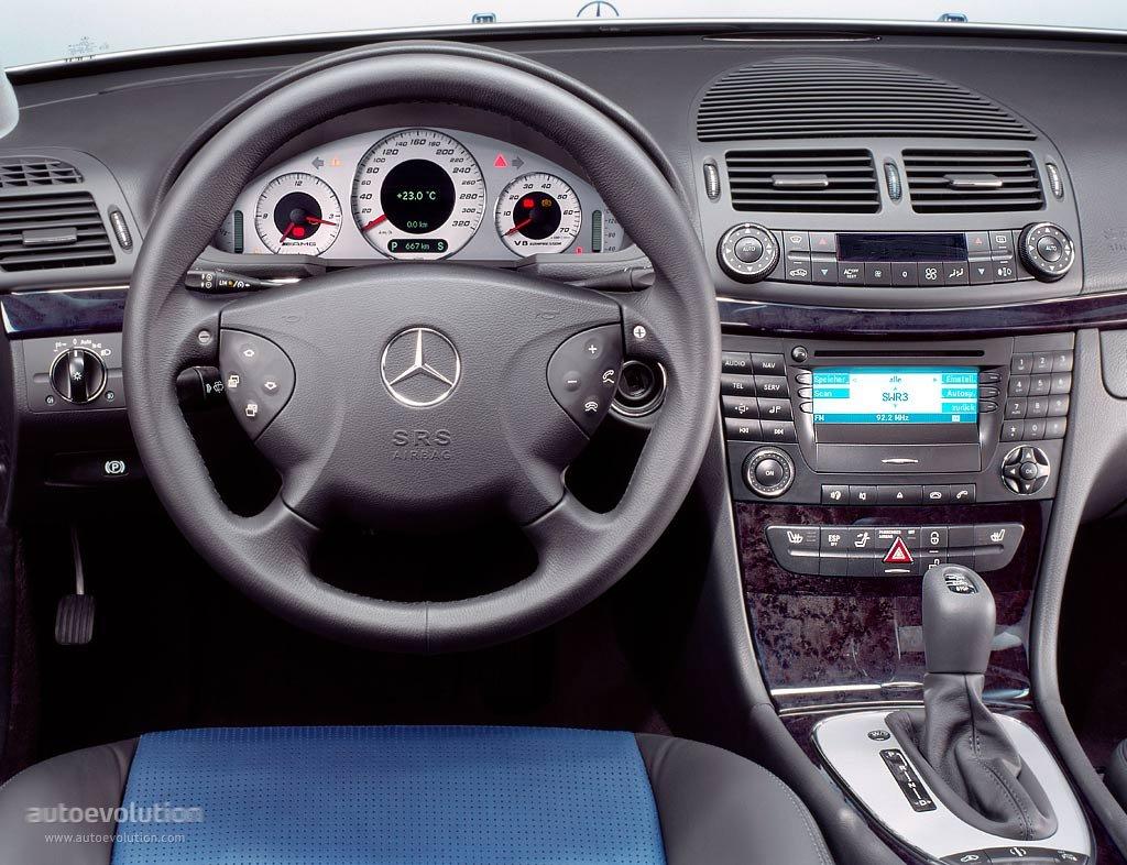 Mercedes Benz E 55 Amg W211 Specs 2002 2003 2004