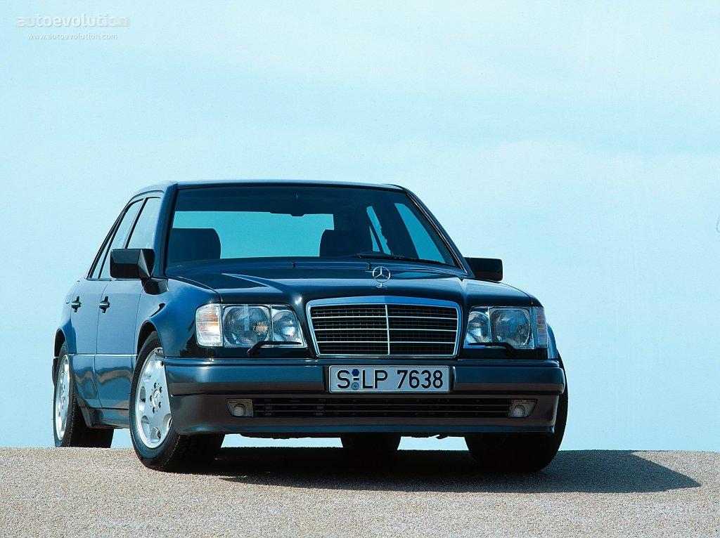 Mercedes benz e 500 w124 specs 1993 1994 1995