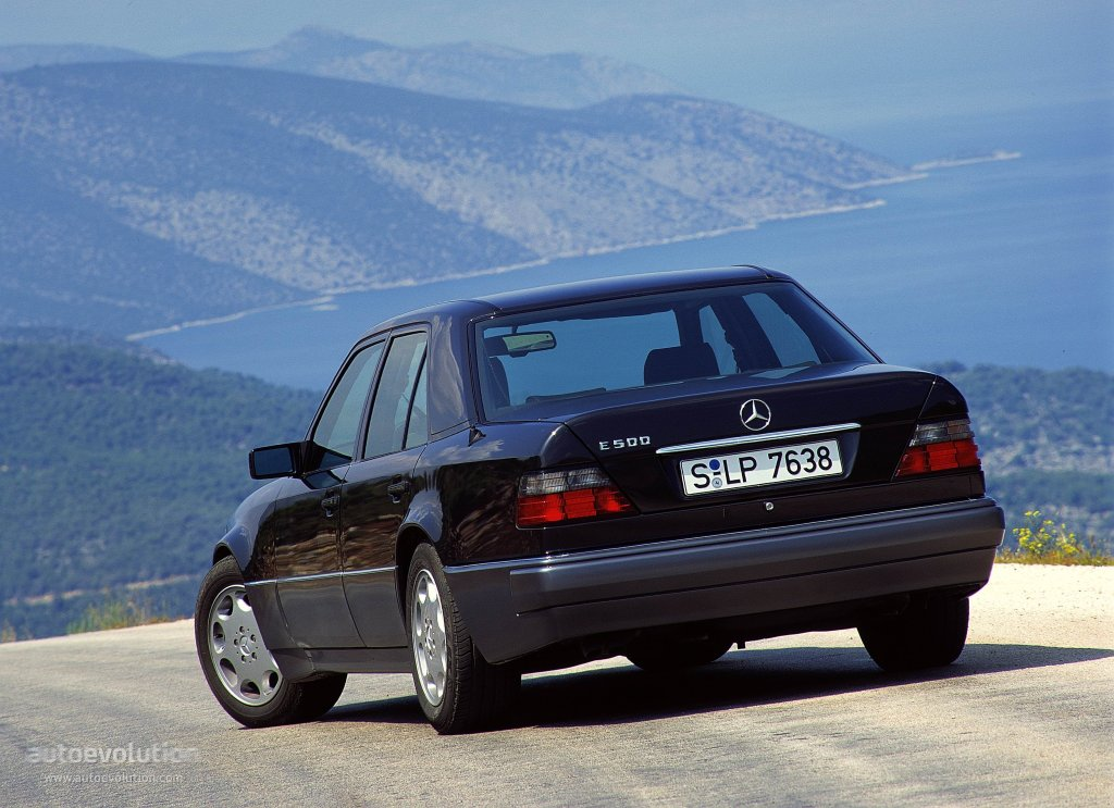 Mercedes benz e 500 w124 specs 1993 1994 1995 autoevolution