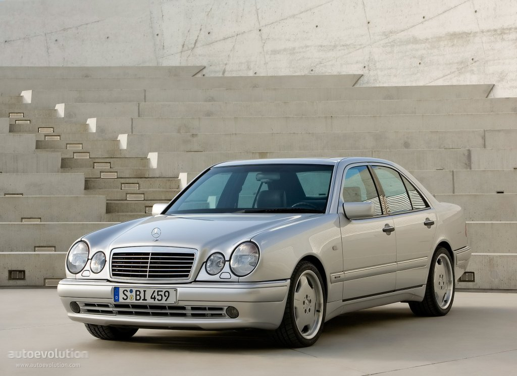 Mercedes benz e 50 amg w210 specs 1996 1997 for Mercedes benz 210
