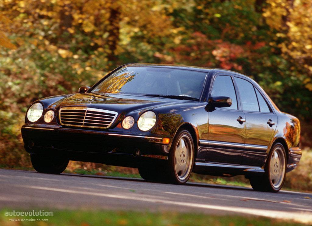 Mercedes Benz E 55 Amg W210 1997 1998 1999 2000