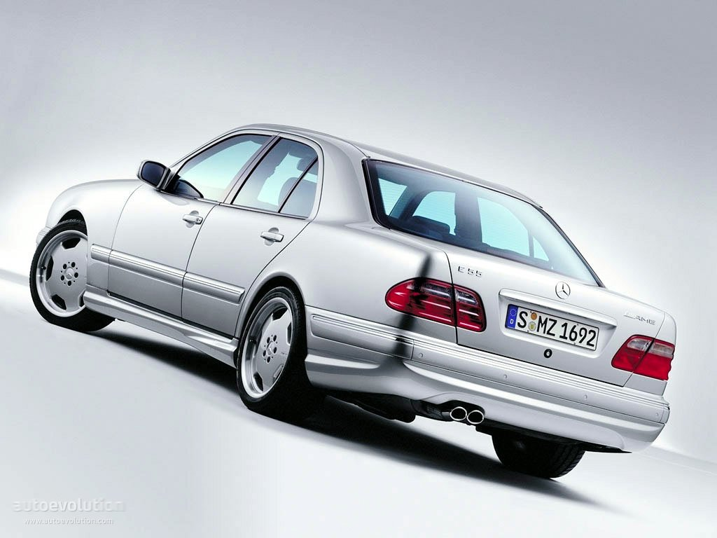Mercedes benz e 55 amg w210 specs 1997 1998 1999 2000 2001 2002 autoevolution