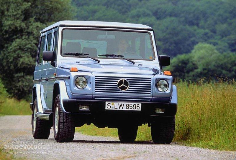 Mercedes Benz G Klasse W463 1989 1990 1991 1992