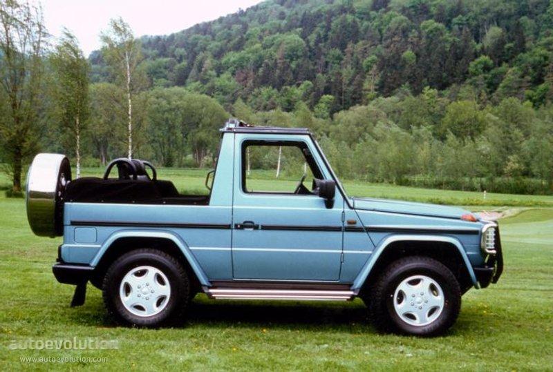 mercedes benz g klasse cabrio w463 specs 1990 1991. Black Bedroom Furniture Sets. Home Design Ideas