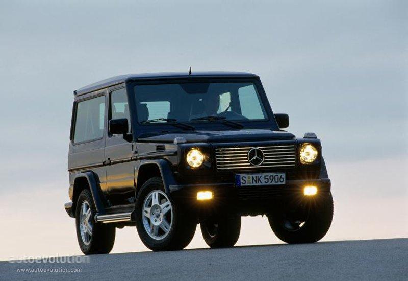 Mercedes benz g klasse kurz w463 specs 2000 2001 for Mercedes benz baby g class
