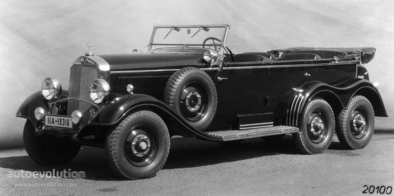 Mercedesbenzg W on 1936 Mercedes Benz 540k
