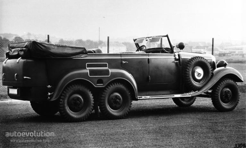 MERCEDES BENZ G4 (W31) specs & photos - 1934, 1935, 1936 ...
