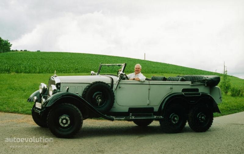 MERCEDES BENZ G4 (W31) specs & photos - 1934, 1935, 1936 ...