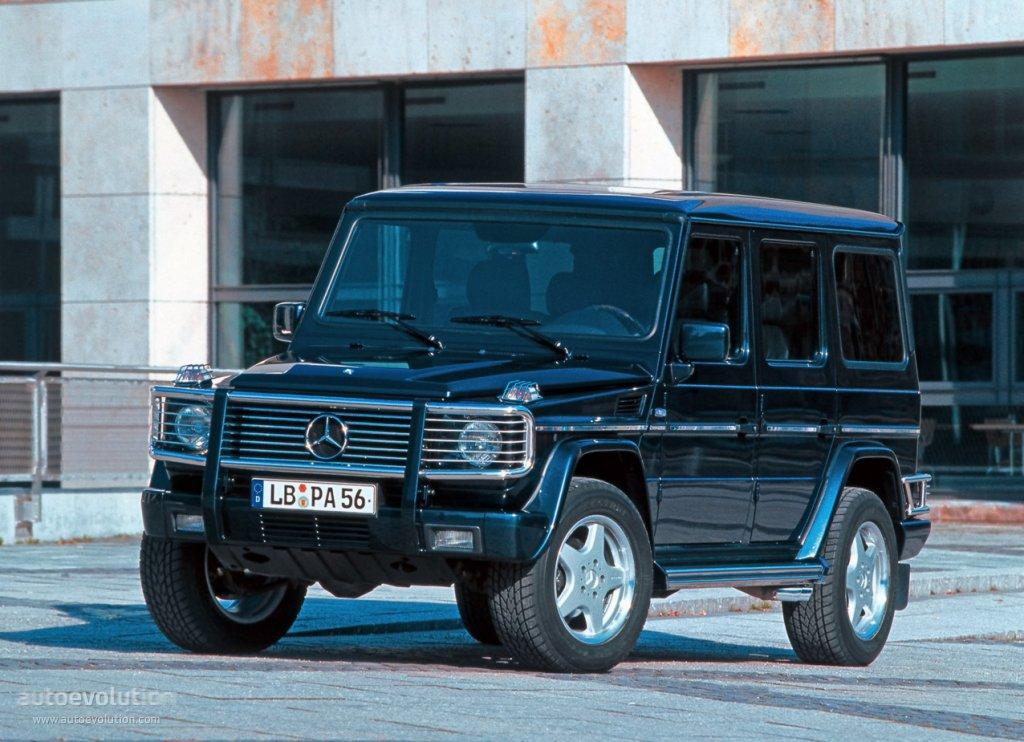 Mercedes Benz G 55 Amg W463 1999 2000 2001 2002