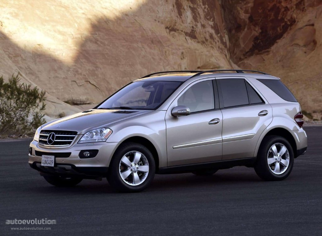 Mercedes Benz Ml Specifications