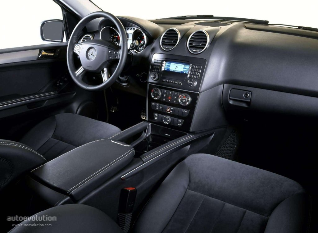 mercedes benz ml klasse w164 specs 2005 2006 2007 2008 autoevolution. Black Bedroom Furniture Sets. Home Design Ideas