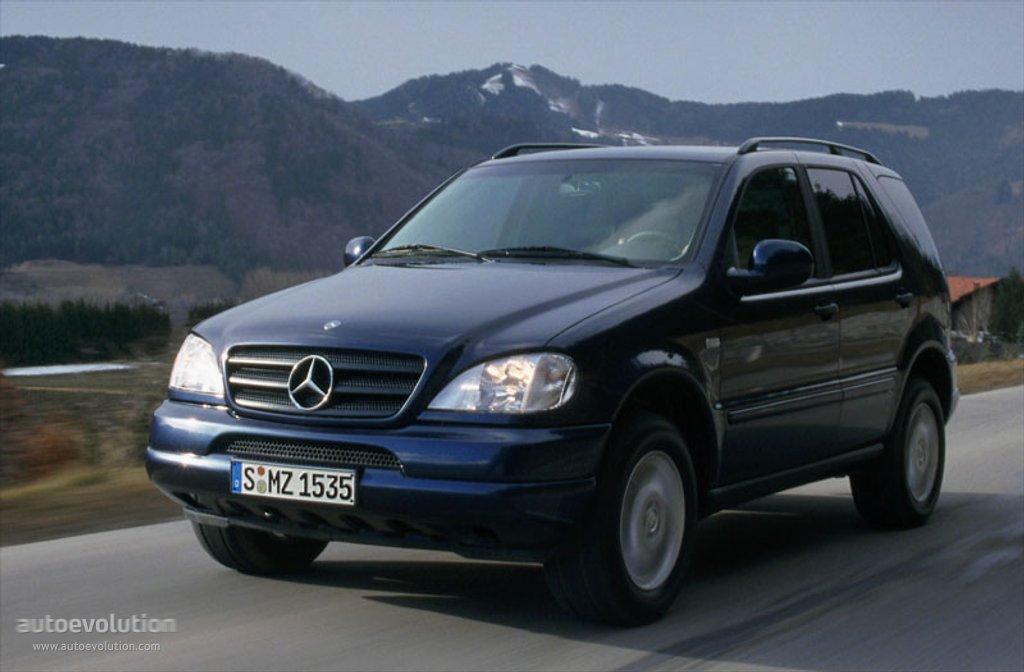Mercedes benz ml klasse w163 specs 1997 1998 1999 for Mercedes benz ml350 tires compare prices reviews