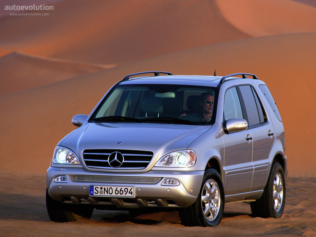mercedes benz ml klasse w163 specs photos 2001 2002. Black Bedroom Furniture Sets. Home Design Ideas
