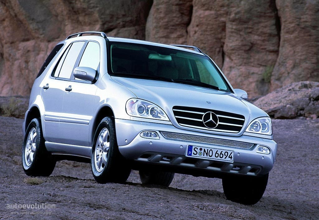 mercedes benz ml-klasse (w163) specs & photos - 2001, 2002, 2003
