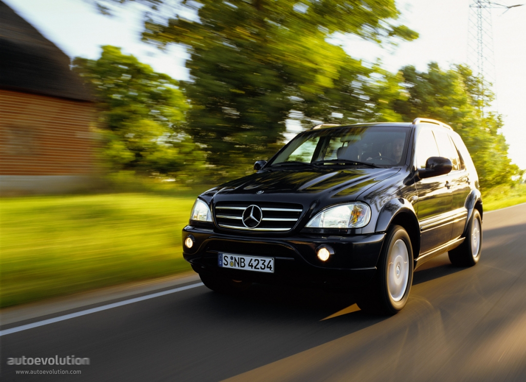mercedes benz ml 55 amg (w163) specs & photos - 1999, 2000, 2001