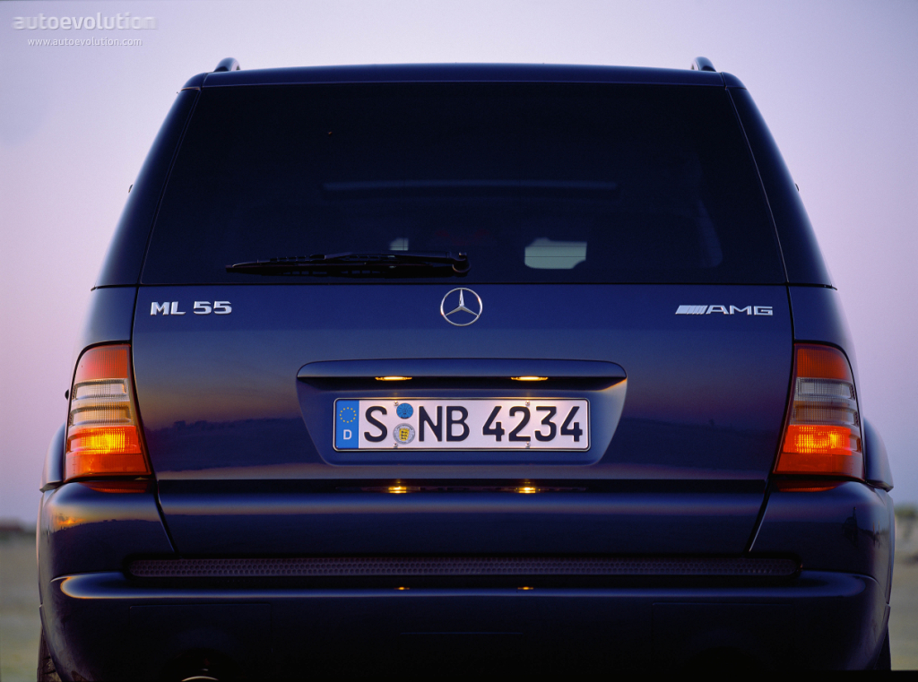 Mercedes Benz Ml 55 Amg W163 1999 2000 2001 2002