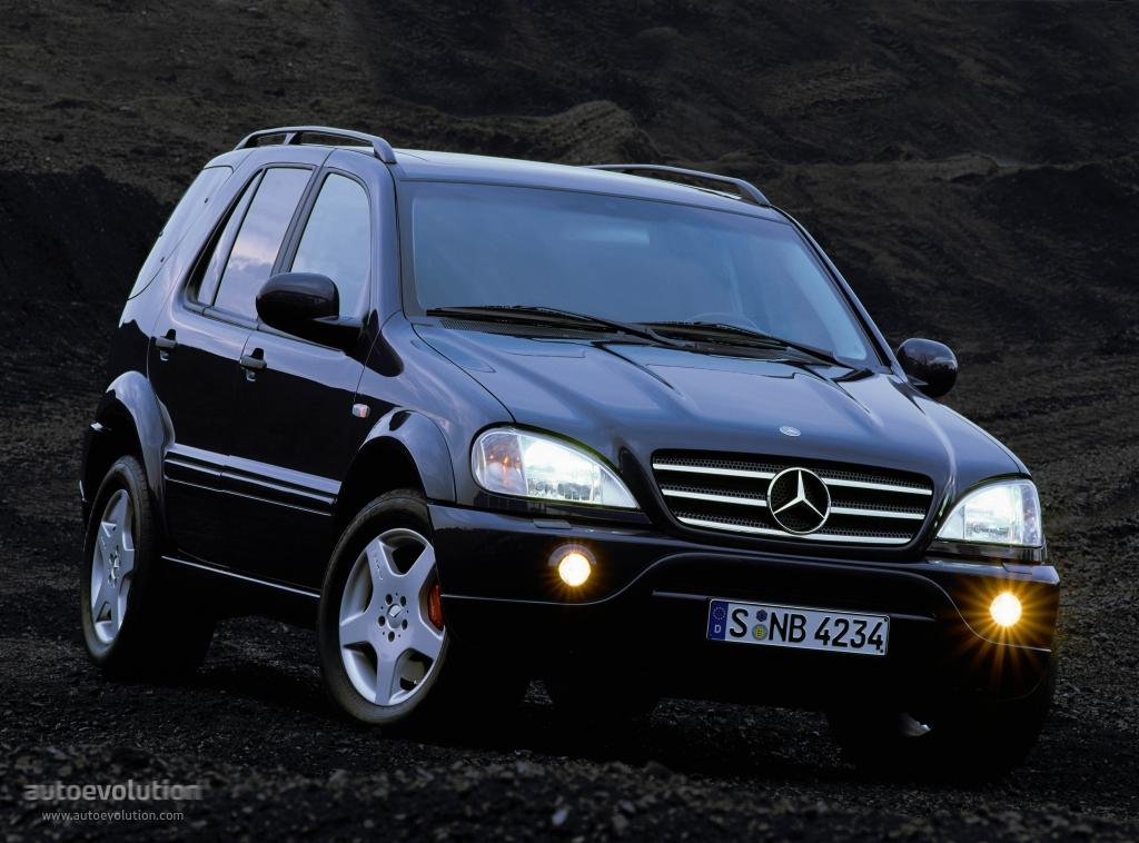 Mercedes benz ml 55 amg w163 1999 2000 2001 2002 for Mercedes benz ml 55