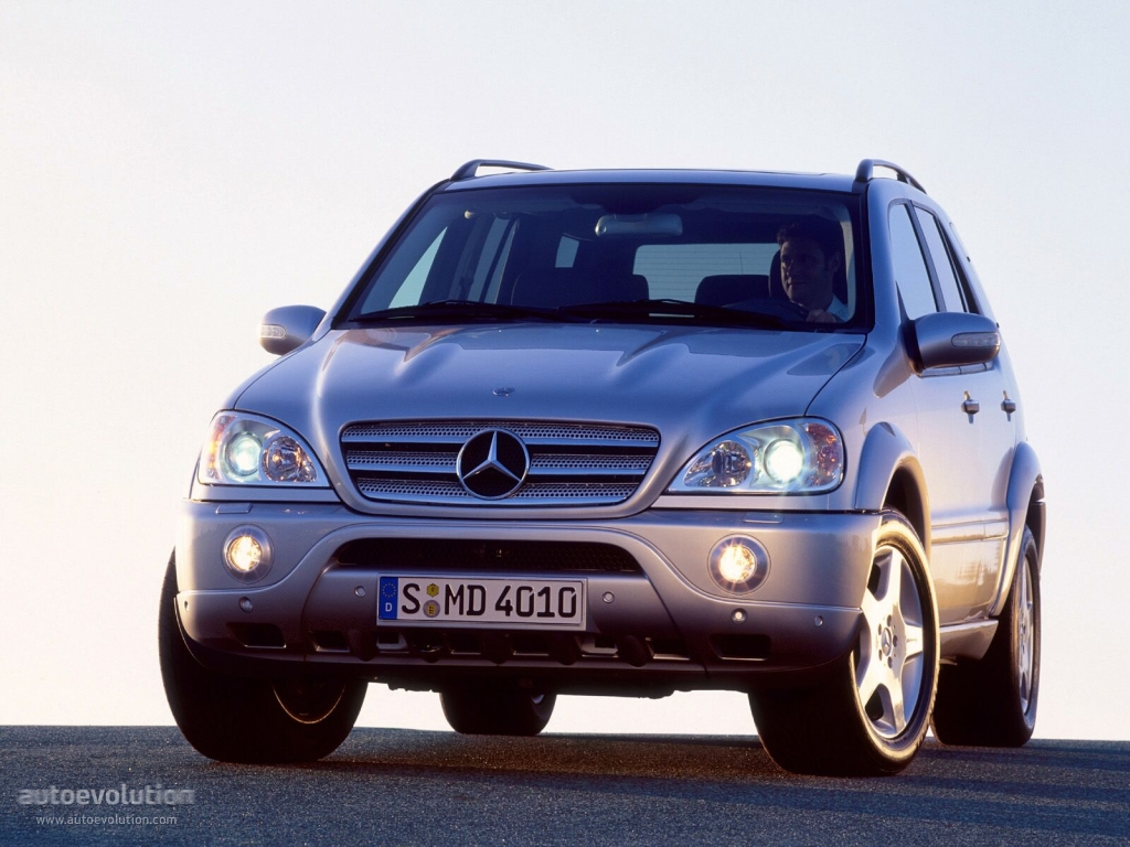 mercedes benz ml 55 amg w163 specs photos 2002 2003. Black Bedroom Furniture Sets. Home Design Ideas