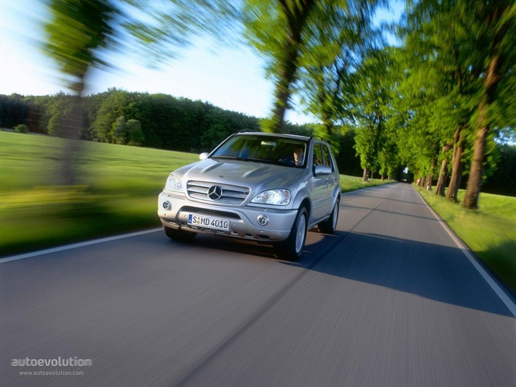 Mercedes Benz Ml 55 Amg W163 2002 2003 2004 2005