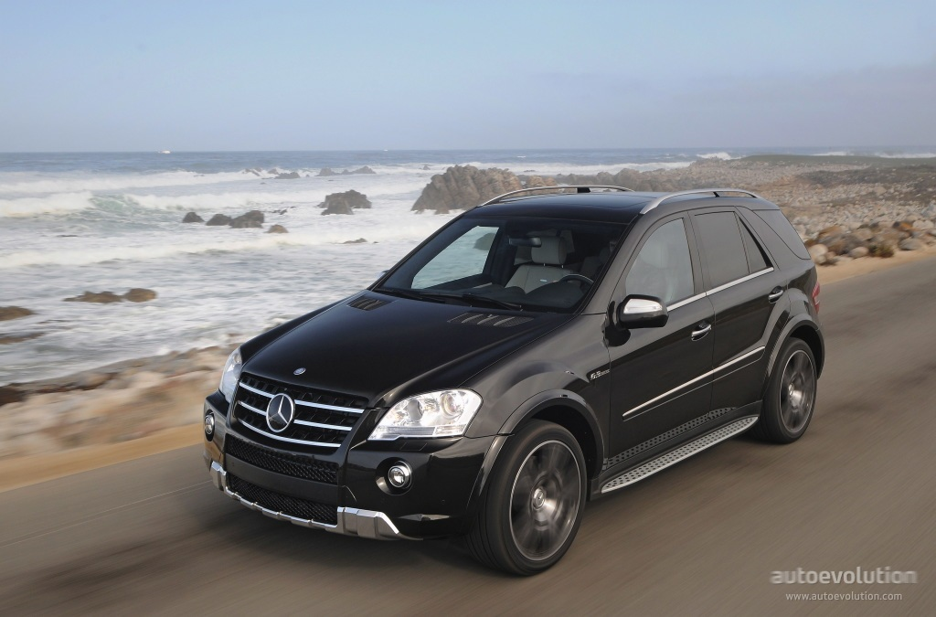 mercedes benz ml 63 amg w164 specs 2008 2009 2010 2011 autoevolution. Black Bedroom Furniture Sets. Home Design Ideas
