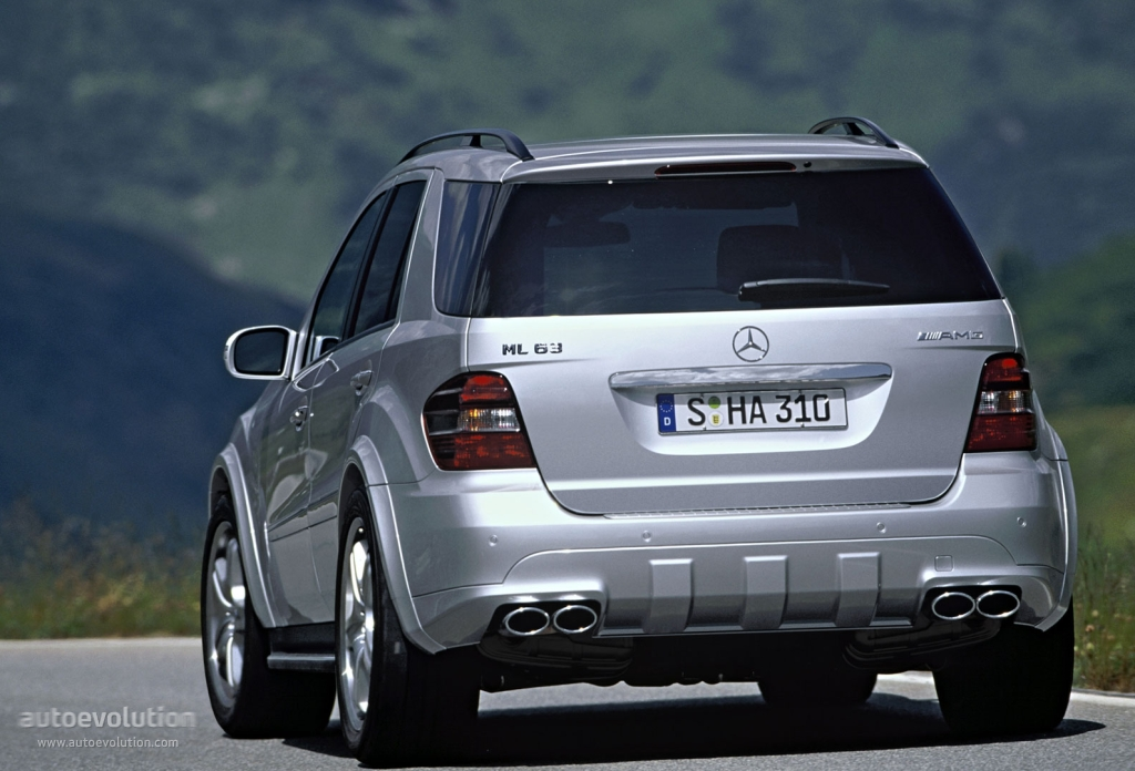 mercedes benz ml 63 amg w164 specs photos 2005 2006 2007 autoevolution. Black Bedroom Furniture Sets. Home Design Ideas
