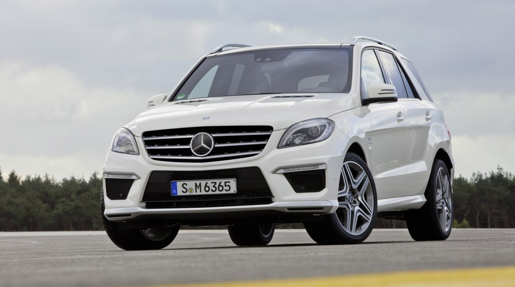 Mercedes Benz Ml 63 Amg W166 2011 2012 2013 2014