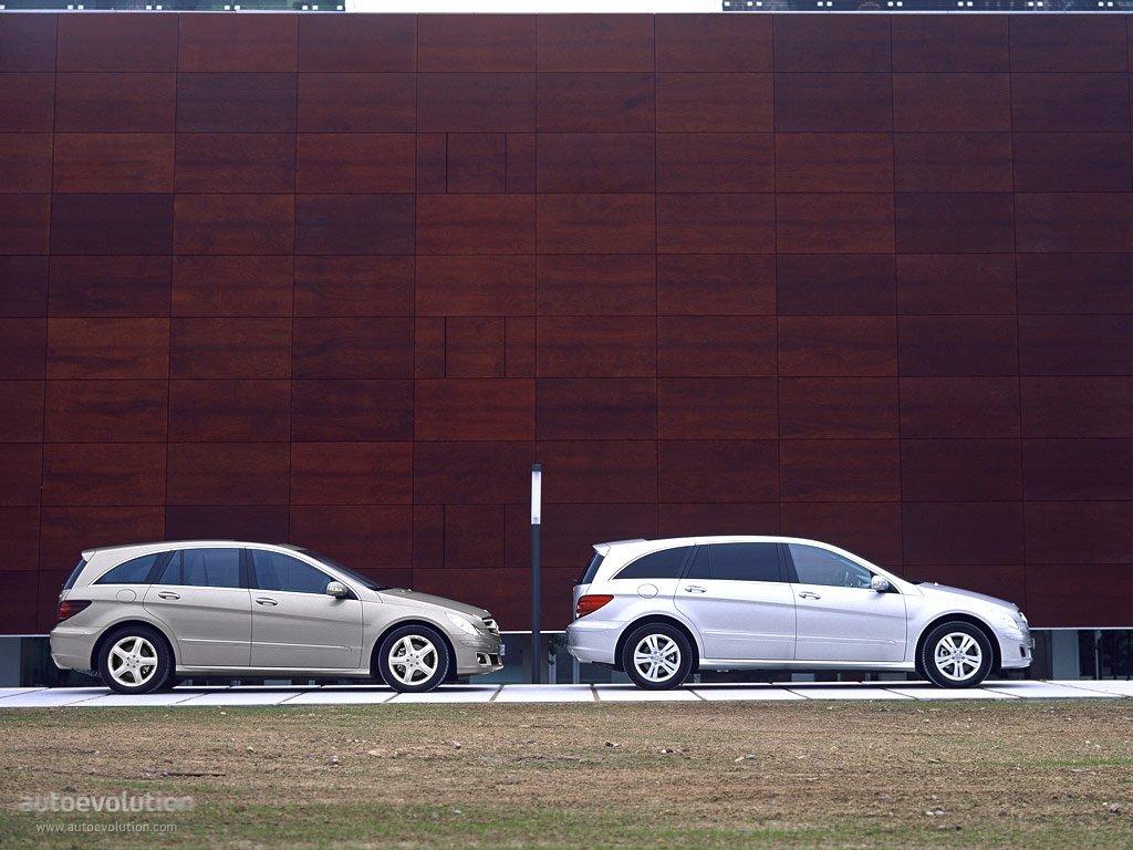 Mercedes Benz R Klasse Lang W251 Specs 2005 2006