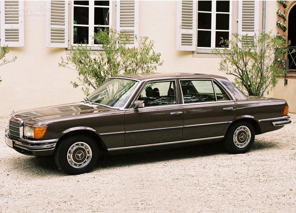 Mercedes benz s klasse w116 specs 1972 1973 1974 for Mercedes benz 1972