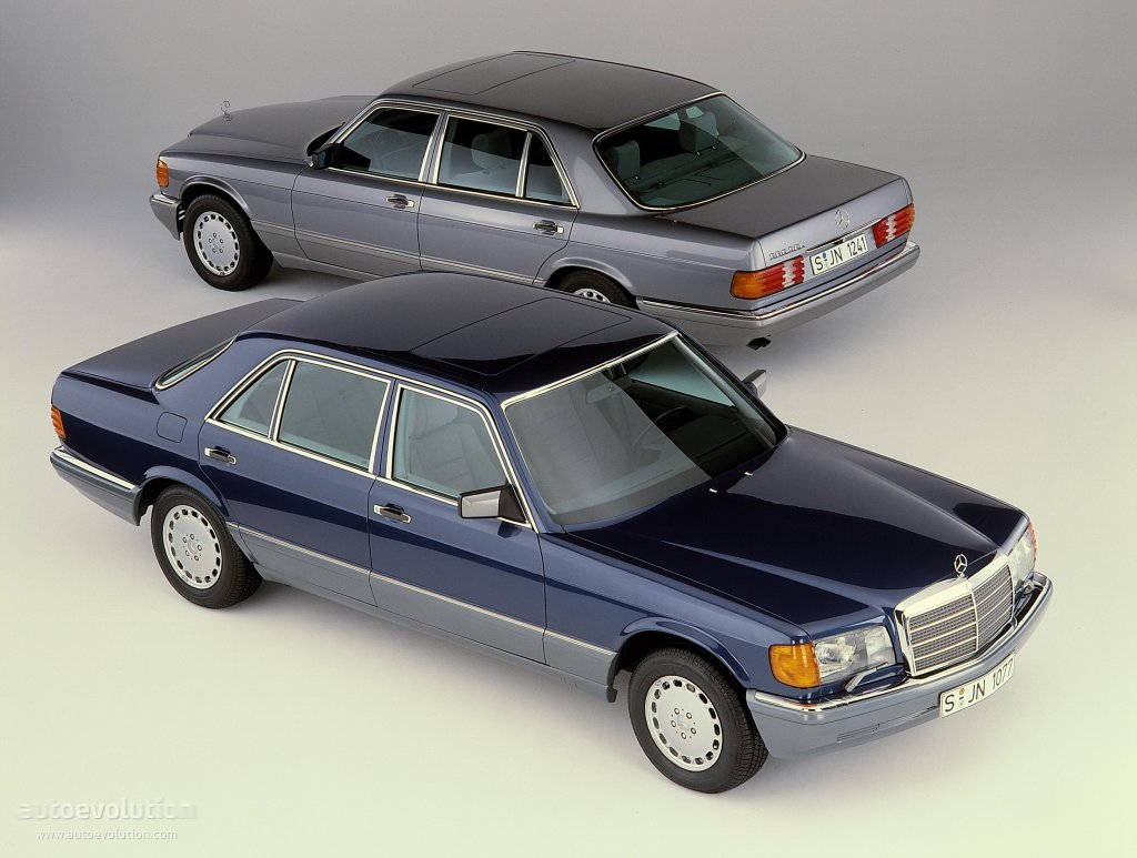 Mercedes benz s klasse w126 specs 1979 1980 1981 for Mercedes benz w126
