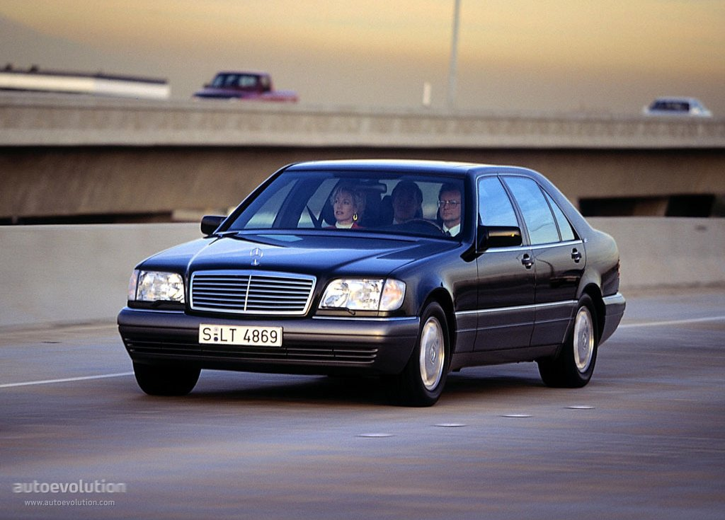 MERCEDES BENZ S-Klasse (W140) specs & photos - 1995, 1996, 1997