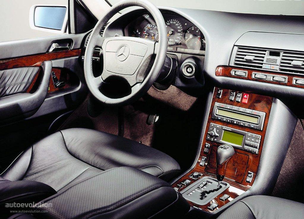 Mercedes benz s klasse w140 specs 1995 1996 1997 for Interieur s klasse