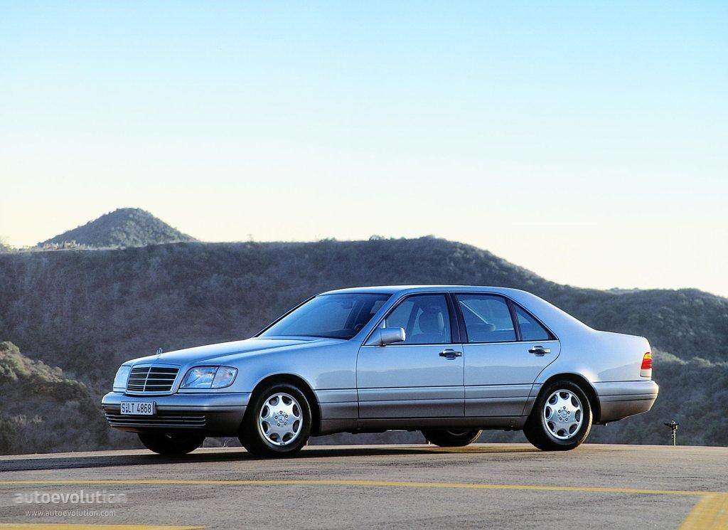 Mercedes Benz S Klasse W140 1995 1996 1997 1998 Autoevolution